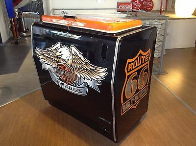 ghiacciaia majestic harley davidson .no coca cola,jukebox flipper anni50
