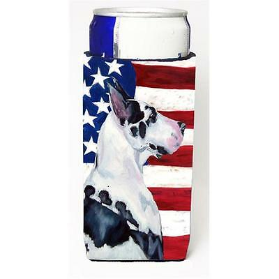 USA American Flag with Great Dane Michelob Ultra bottle sleeves for slim cans...