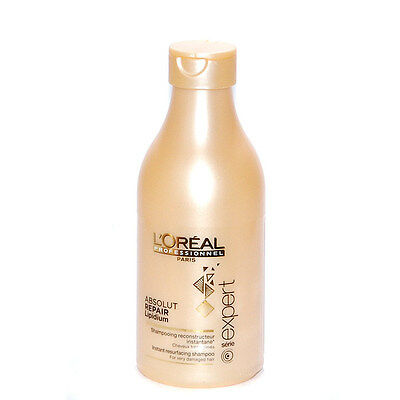 SHAMPOOING ABSOLUT REPAIR LIPIDIUM 250ml L'OREAL PROFESSIONNEL