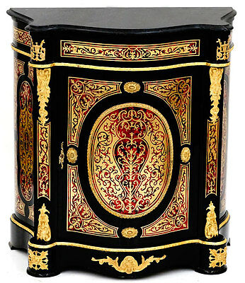 Commode Style Napoleon Iii Marqueterie Boulle En Laiton Meuble Buffet Empire