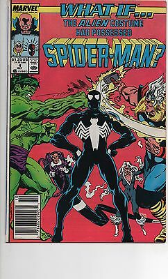 What If #4 Vf/nm (1989) The Alien Costume Had Possessed Spider-Man! Venom