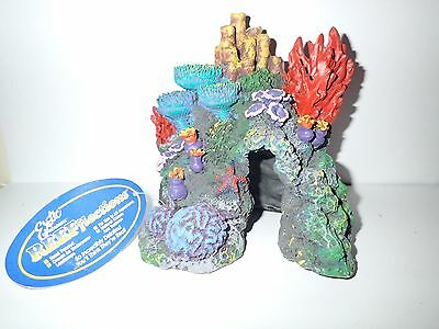 Medium Red Sea Coral Reef Aquarium Fish Hide/Cave Tank Ornament Decoration