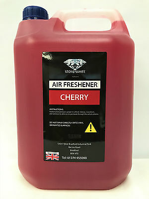 Stone White CHERRY Concentrate Liquid Car Air Freshener Spray 5L OFFER PRICE