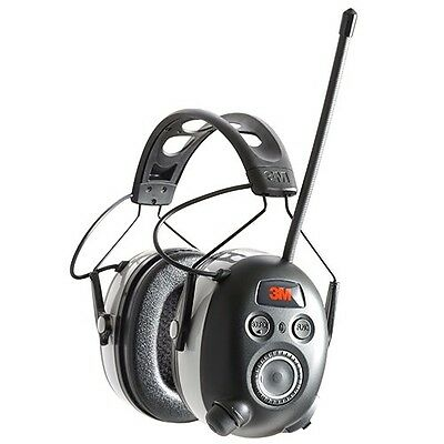 Peltor 90542-3DC Work Tunes Wireless Hearing Protector Bluetooth - Black