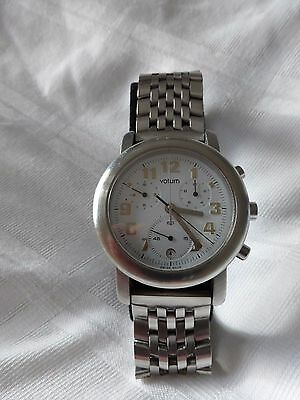 Saab Votum Chronograph Watch Genuine Accessory Excellent Condition Boxed 9-3 9-5