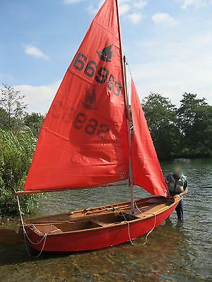 Mirror Dinghy - Only Used Three Times - Road Trailer Included
