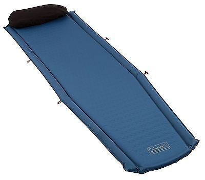 Coleman Self Inflating Compact Mat - Blue 193 x 56 x 3.8 cm Coleman