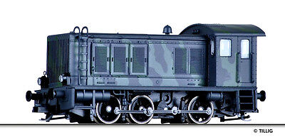 TILLIG 04639 TT Gauge Diesel locomotive WR 360C Camouflage paint Armed forces,