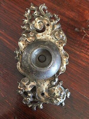 Antique Art Nouveau Bronze Door Bell Push Button