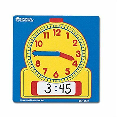 Learning Resources Write On/Wipe Off Student Clocks Set of 10 LER0572
