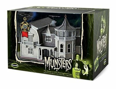 Munsters House Prefinished By Moebius Models Moe2929 MOES2929 The Munsters
