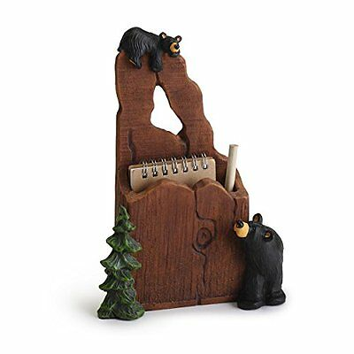 Bearfoots Noteworthy Notepad and Pencil Holder 3005080180 Demdaco