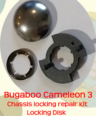 Bugaboo Cameleon 3 Locking Disk Ratchet - Repair broken chassis fold fault