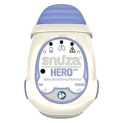 Snuza Hero MD (Medically Certified) Portable Baby Breathing Monitor NEW
