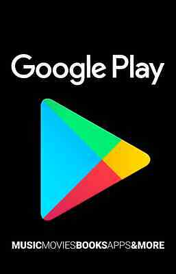 Google Play Store $25 Canadian Gift Card