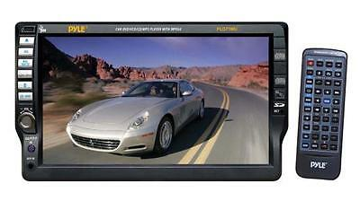 NEW Pyle 7 In-Dash Motorized Touchscreen DVD CD USB/SD Aux-In Player Receiver