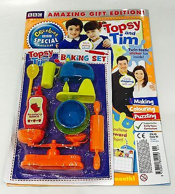 CBeebies Special Magazine #91 AMAZING GIFT EDITION! - Topsy And Tim (NEW)