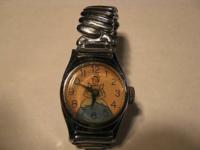"Vintage 1950's US Time ""Cinderella"" Girl's Wristwatch"