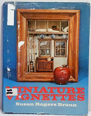 MINIATURE VIGNETTES Braun Diorama Small Furniture Building Model Doll House Room