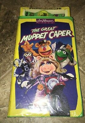 Rare New the Great Muppet Caper VHS Free Collectors Promo Watch VHTF