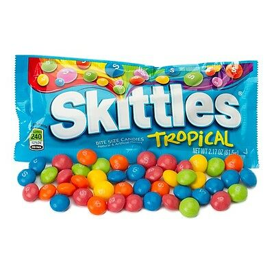 Skittles - Tropical Flavor - New Flavor  Imported from USA - Aust seller