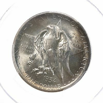 1934 Texas 50C PCGS Certified MS64+ Mint State Silver Half Dollar Commemorative