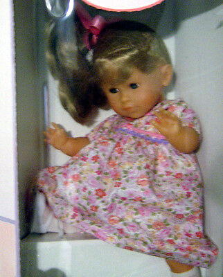 """14"""" Corolle Soft Body Toddler Julia Blonde Doll Made In France"""