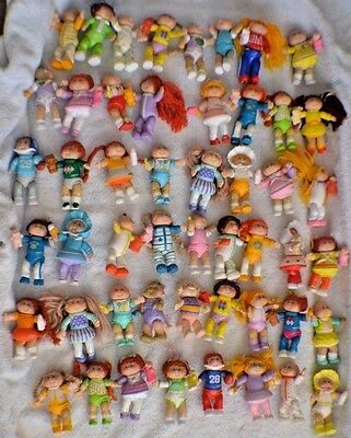**Lot of 50 Vintage Cabbage Patch Kids Poseable Figures**