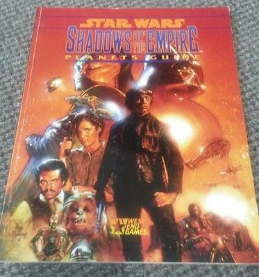 Star Wars Shadows of the Empire Planets Guide - RPG - West End Games 40134 RPG