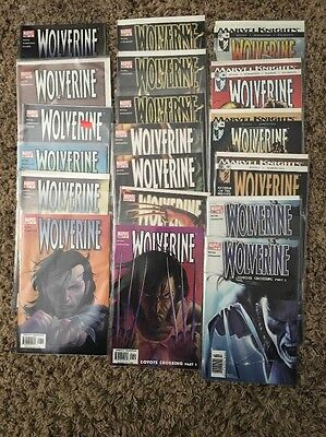 Lot of 47 Wolverine Comics 2003 Series Marvel Plus Others (See Discription)