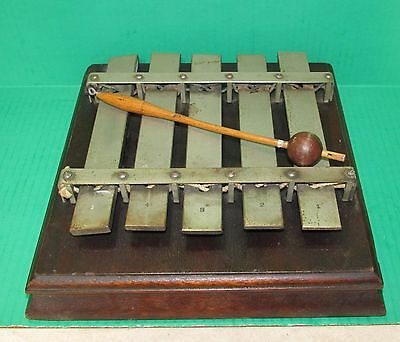 Old or Antique Deagon Xylophone Bell Musical Instrument
