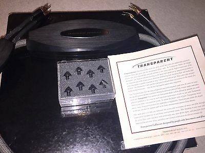 Transparent Audio Reference MM2 Speaker cable SPADES-RRP £7000