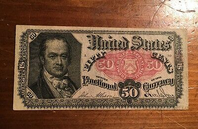 Nice Fr 1381 Fifth Issue 50 Cent Fractional Currency; Bob Hope