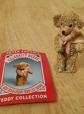Peter Fagan Colourbox Bears - Ruby  Lesque  Lily Savage - Celebrity bears TCC014