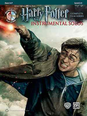 Harry Potter-Instrumental Solos-French Horn-Music Book/Cd Film Series New Sale!!