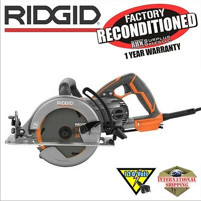 Ridgid R32102 15-Amp 7-1/4 in. Worm Drive Circular Saw ZRR32102 Reconditioned