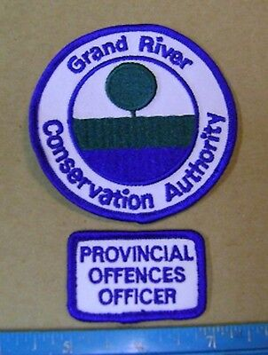 ONTARIO GRAND RIVER CONSERVATION AUTHORITY PATCH parks,wildlife,police,camp