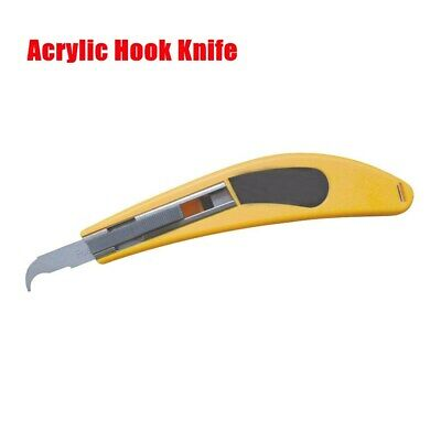 Acrylic Hook Knife Craft Knife Cutting Tool, with Olecranon Blade Head