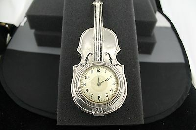 Vintage 1900s - Miniature Cello Clock • £311.09
