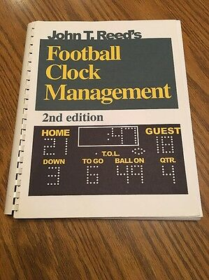 Football Clock Management By John T. Reed EUC
