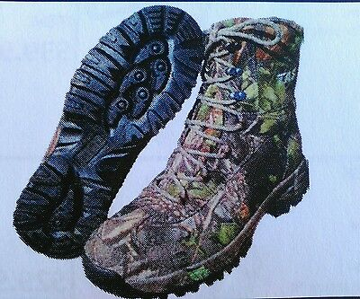 TAS Spartan Tree Camo Waterproof Breathable Trek / Hunt Boot - Sizes 6UK to 14UK