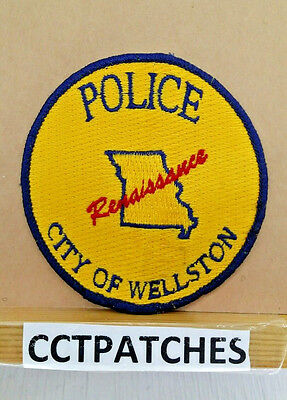 Wellston, Missouri Police Shoulder Patch Mo