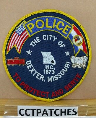 City Of Dexter, Missouri Police Shoulder Patch Mo 3