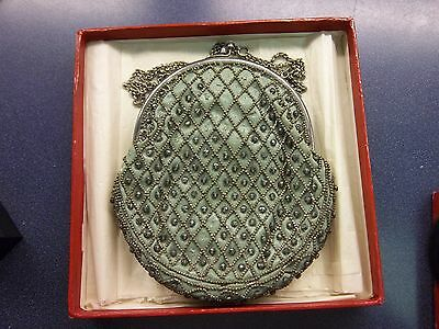 Antique Art Deco Purse/bag Made In France/ Sterling Silver