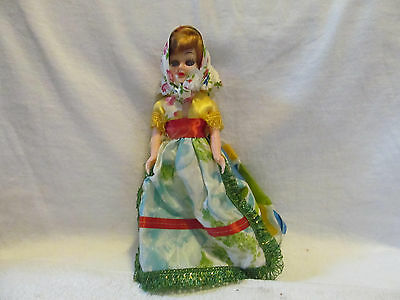 "Vintage 8"" Country Doll"