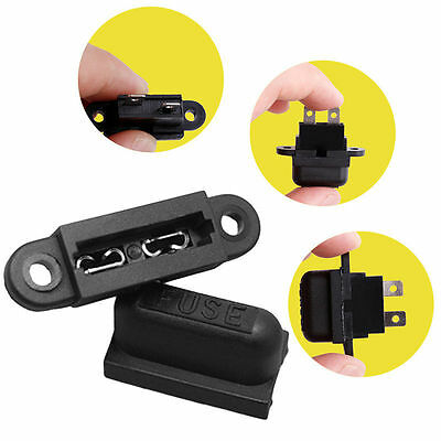 5Pcs 30A Amp Auto Blade Standard Fuse Holder Box For Car Boat Truck With Co P5P6