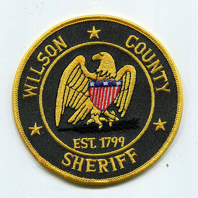 Wilson County Tennessee Sheriff Patch