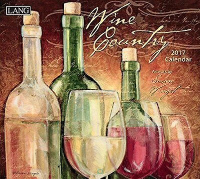 Lang 2017 Wine Country Wall Calendar 13.375 x 24 inches 17991001885