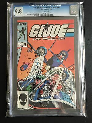 GI JOE #34 CGC 9.8 White Pages