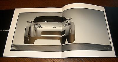 """2003 NISSAN 350Z  Limited Three Brochure Set """"The Perfect Sports Car from A to Z"""